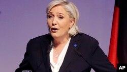 Marine le Pen 'yar takarar shugabancin Faransa