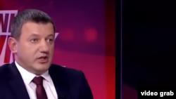 Slaviša Krunić prilikom gostovanja na FACE TV