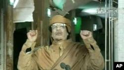 卡扎菲表示不會辭職