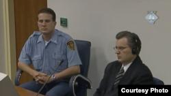 Milan Babić u sudnici. Izvor: ICTY