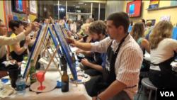 누구나 화가가 될 수 있는 '속성 그림 교실'