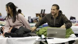 Jennifer Parungao and Hossam Shahin, both 19, are international students at Fairleigh Dickinson University in New Jersey