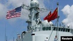 지난 2016년 중국 남해함대 소속 호위함 헝수이함이 림팩 훈련에 참여하기 위해 하와이 진주만 미 해군기지에 도착했다.