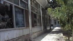 دفتر غلام حیدر حمیدی شهردار قندهار که در حمله انتحاری طالبان کشته شد. ۲۷ ژوئیه ۲۰۱۱