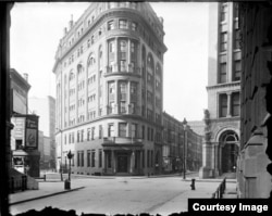 Delmonico's Restaurant in New York City in an undated photo. (Courtesy Delmonico's)