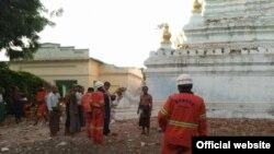 ျမန္မာႏိုင္ငံတ၀န္း ျပင္းအား ၆.၈ ရွိ ငလ်င္လႈပ္ သတင္းဓါတ္ပံု (MOI)