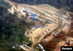 FILE: A view of the Chinese-funded Kamchay hydroelectric project in Kamport province, 146 km west of Phnom Penh, March 22, 2008. (Reuters)