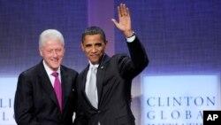 Бил Клинтон ги поттикнува светските лидери и приватните фирми да постапат по глобалните предизвици