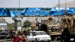 NATO Convoy Attacked in Kabul