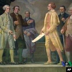 Από την υπογραφή της διακήρυξης της Αμερικανικής ανεξαρτησίας