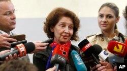 Гордана Силяновска-Давкова. Скопье, Северная Македония. 5 мая 2019 г.