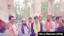 ہندو برادری نے تاریخی مندر کھلنے پر خوشی کا اظہار کیا ہے۔