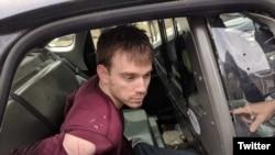 Travis Reinkin, sospechoso del mortal tiroteo en un restaurante Waffle House, en Nashville, Tennessee, el domingo 22 de abril de 2018, fue arrestado informó la policía.