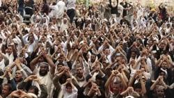 اولین پیام تلویزیونی صالح از عربستان