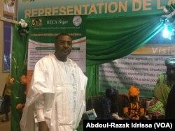 Youssouf Mohamed Elmoctar est le secrétaire exécutif du Sahel-Niger 2017 à Niamey, Niger, le 4 mars 2017. (VOA/Abdoul-Razak Idrissa)