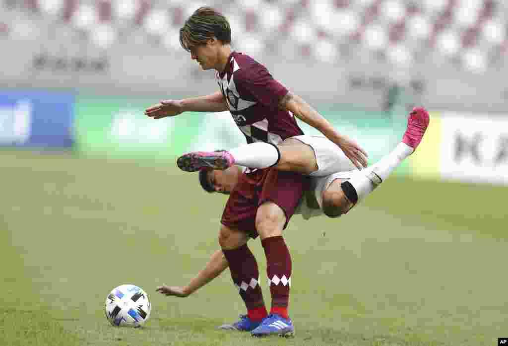 Futbol. Doha, Qatar.
