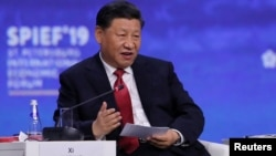 Председатель КНР Си Цзиньпин (архивное фото)