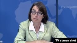 La sous-secrétaire d'État américaine à la sécurité civile Sarah Sewall