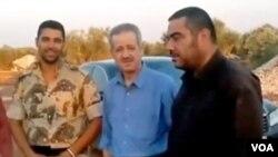 Muhamed Ahmed Faris sa sirijskim pobunjenicima