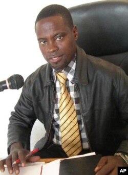 Advogado Jerry Simão, da Associação Mãos Livres no Lubango