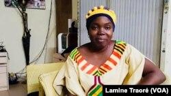 Awa Koné, directrice de AAS, à Ouagadougou, le 2 décembre 2018. (VOA/Lamine Traoré)
