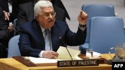 Президент Палестинской автономии Махмуд Аббас