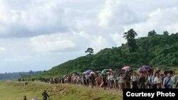 rakhine maungdaw situation (Dr Saw Mra Aung Foundation)