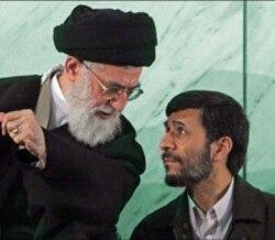با علنی شدن اختلاف رهبر و رییس جمهوری اسلامی ایران ، حمایت های خامنه ای از احمدی نژاد کاهش یافته است