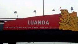 Apaagaram-se as luzes no aeroporto de Luanda - 1:54