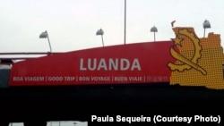 Aeroporto 4 Fevereiro Luanda, Dez. 15, 2014. Angola