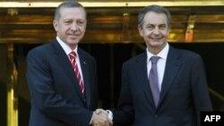 Başbakan Erdoğan ve İspanya Başbakanı Jose Luis Rodriguez Zapatero