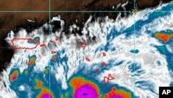 Κοντά στις Βερμούδες η τροπική καταιγίδα Γκέρτ