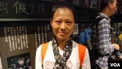 大陸移居香港12年的寇小姐表示,會介紹大陸朋友參觀六四紀念館了解真相