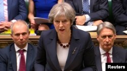 Theresa May, Ministiri w'Intebe w'Ubwongereza