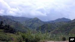 La région du Masisi dans l'est de la RDC.
