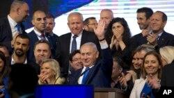 د اسرایلو لومړی وزیر بنیامین نتانیاهو د پنځم ځل لپاره واک ته د رسیدو په درشل کې دی