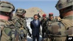 آغاز خروج نیروهای فرانسوی از افغانستان