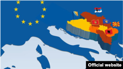 Map West Balkans EU (newslettereuropean.eu)