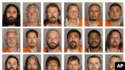 En total son 170 arrestados bajo los cargos de crimen organizado y asesinato en primer grado, pero la policía no descarta que se realicen más arrestos.
