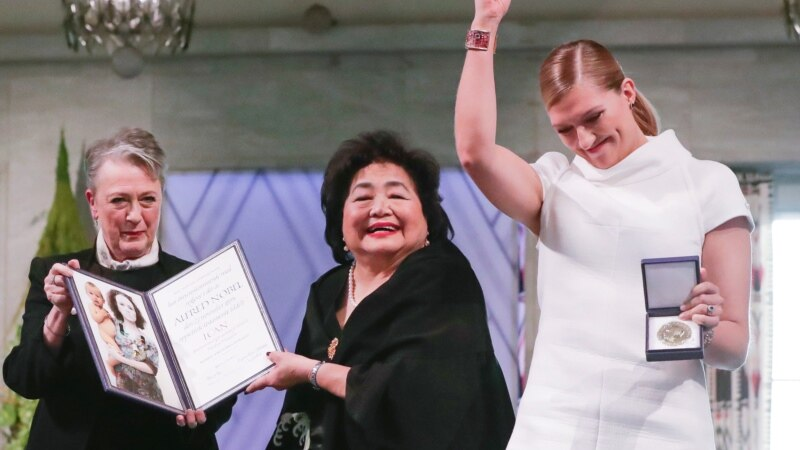 Nobel Peace Prize Winners Urge Nuclear Powers to Sign UN Treaty
