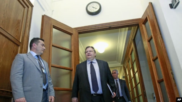 Greece's Finance minister Evangelos Venizelos (file photo)