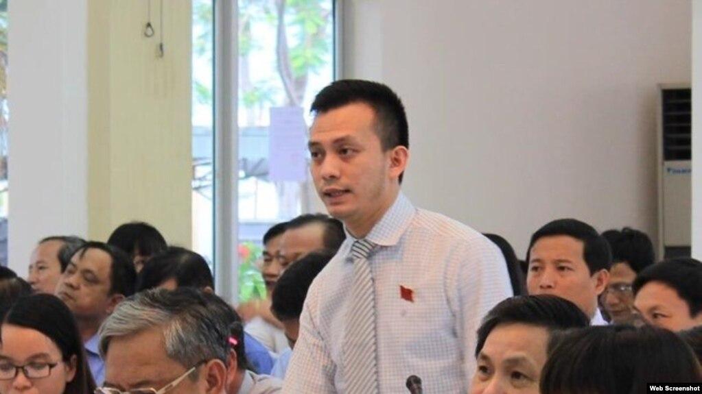 Ông Nguyễn Bá Cảnh, con trai của cố Bí thư Đà Nẵng Nguyễn Bá Thanh. Photo Nguoi Lao dong