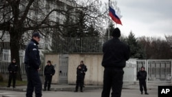 Здание посольства России в Софии. Болгария (архивное фото)