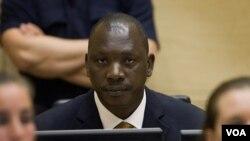 Panglima perang Kongo Thomas Lubanga, dalam sidang Mahkamah Kejahatan Internasional (ICC) di Den Haag (Foto: dok).