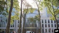 نمایی از ساختمان دادگاه فدرال نیویورک که به تازگی رای علیه جمهوری اسلامی ایران داده است.