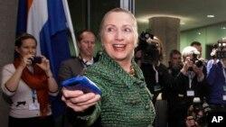 Hillary Clinton menggunakan email pribadi saat masih menjabat sebagai Menlu AS (foto: dok).