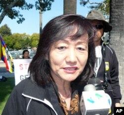 洛杉矶西藏之友会主席西腾
