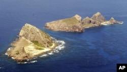 中国称钓鱼岛、日本称尖阁列岛的岛屿(资料照片)