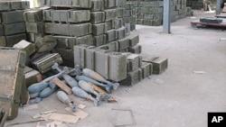Des obus de mortier non gardés à Tripoli