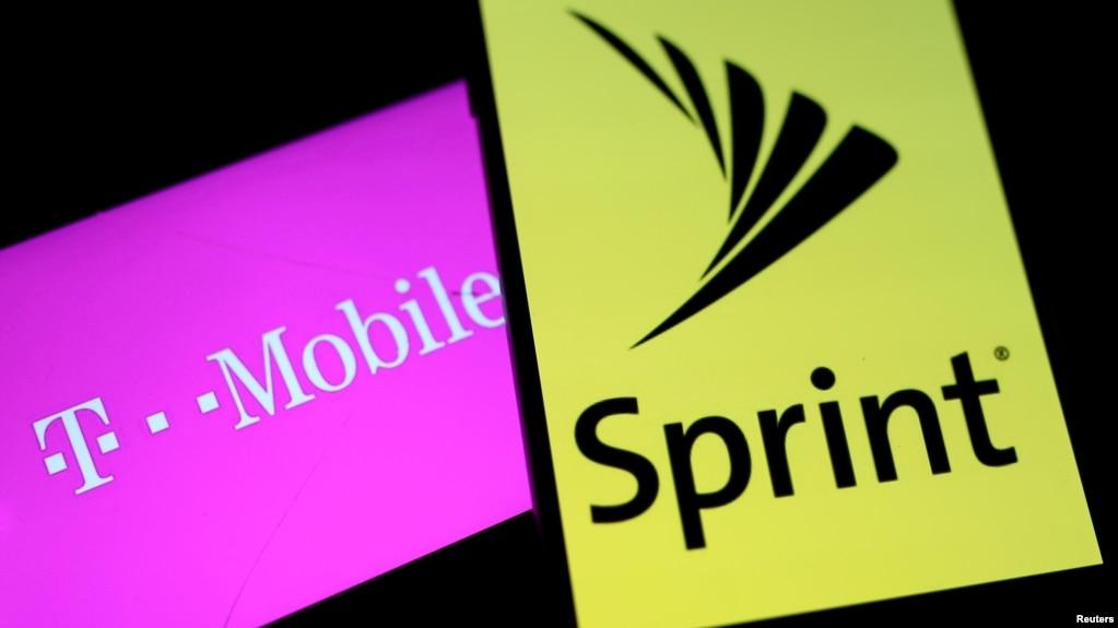 T-Mobile與斯普林特公司的標誌
